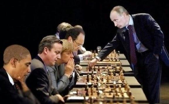 Putin Chess Player