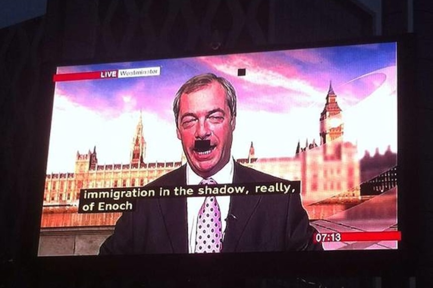 Nigel-Farage-Hitler-Moustache