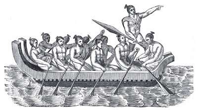 Maori Canoe Tasman