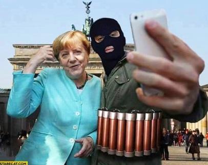 last-selfie-with-angela-merkel-terrorist-suicide-bomber