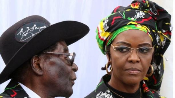 Mugabe and Wife